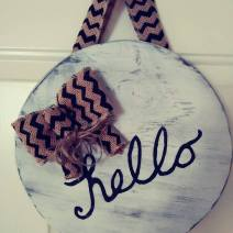 sign hello