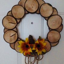 sign wreath