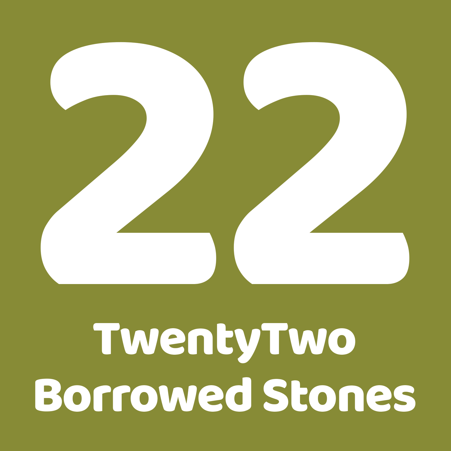 TwentyTwo Borrowed Stones